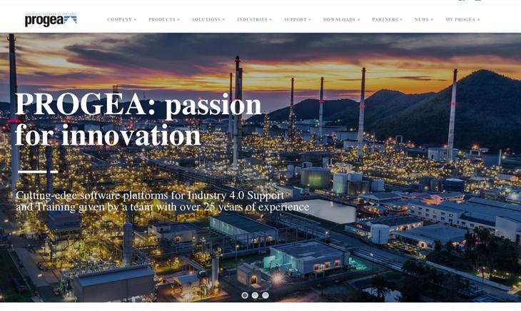 Progea.com: Новый сайт